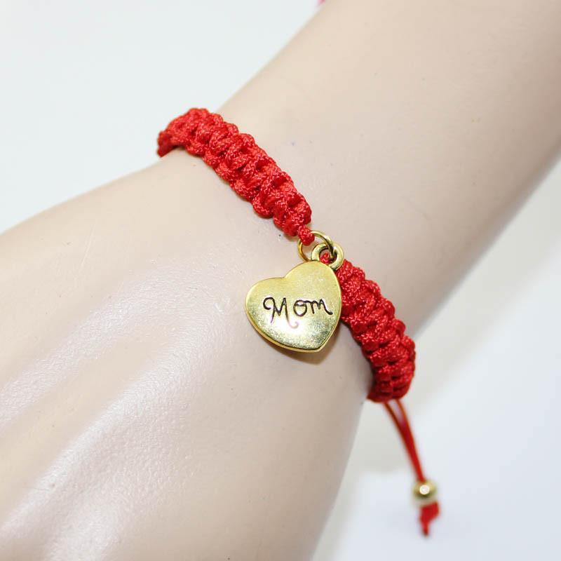 Image of Braided Mom Bracelet