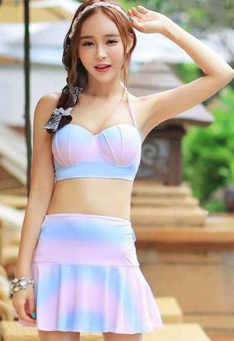 Mermaid Bikini with Shell Top - Rebel Style Shop - 1