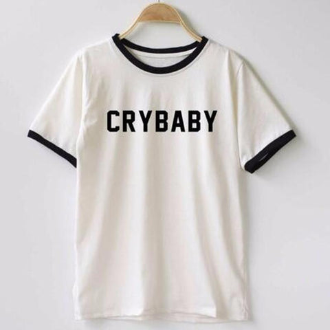 Cry Baby Shirt - Cool T shirts - Rebel Style Shop