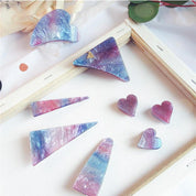 Colorful Starry Geometric Hairpins