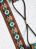 Tribal Embroidered Headband - Rebel Style Shop - 2