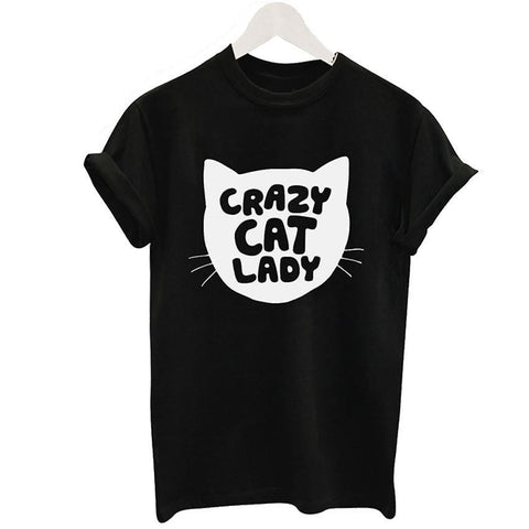 Crazy Cat Lady Tee - Rebel Style Shop