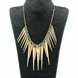 Spike Statement Necklace - necklace - Rebel Style Shop