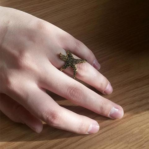 Funky Starfish Ring - Rebel Style Shop - 1