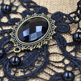 Steampunk Lace Vintage Necklace - Rebel Style Shop - 6