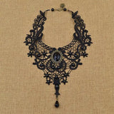 Steampunk Lace Vintage Necklace - Rebel Style Shop - 2