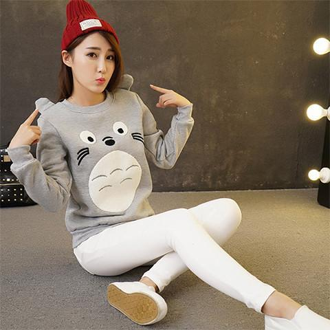 Kawaii Totoro Sweatshirt - Rebel Style Shop - 1