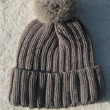 Winter Pompom Knit Beanie for Ladies - Rebel Style Shop - 5