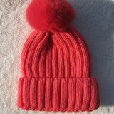 Winter Pompom Knit Beanie for Ladies - Rebel Style Shop - 4