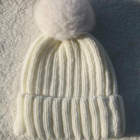 Winter Pompom Knit Beanie for Ladies - Rebel Style Shop - 2