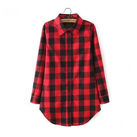 Women's Flannel Shirt - Rebel Style Shop - 2