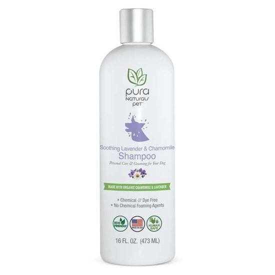 Pura Soothing Chamomile and Lavender Shampoo 16 oz