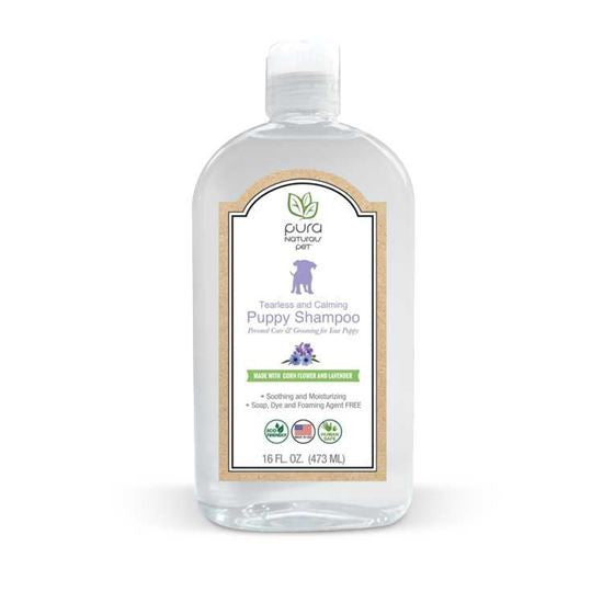 Pura Tearless and Calming Puppy Shampoo 16oz