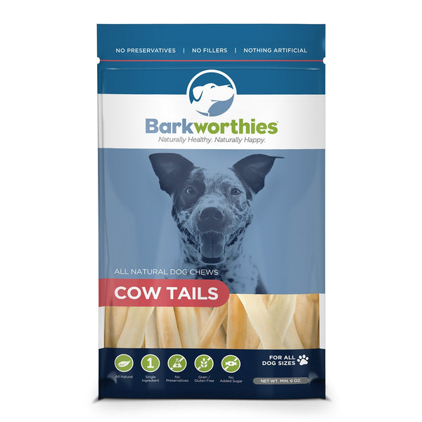 Barkworthies Cow Tails 6oz