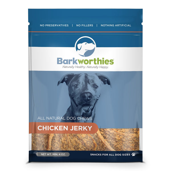 Barkworthies Chicken Jerky 4oz