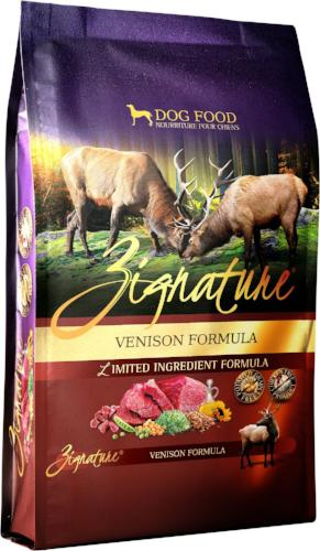 Zignature Venison Dog Food