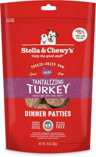 Stella & Chewy's Turkey Frozen Dog Food