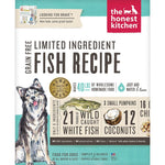 The Honest Kitchen Grain-Free Fish Limited Dog Food (Brave)