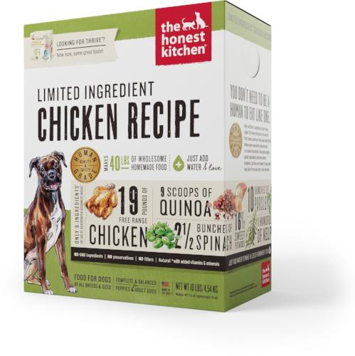 The Honest Kitchen Whole Grain Chicken Limited Dog Food (Thrive)