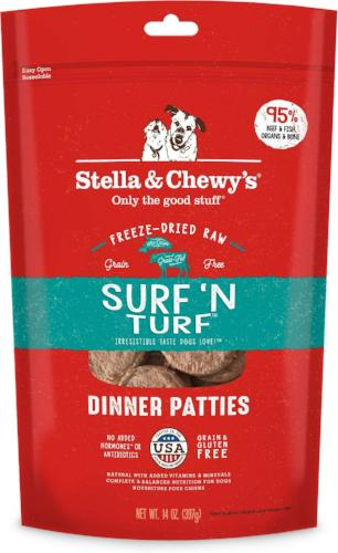 Stella & Chewy's Surf 'N Turf Frozen Dog Food