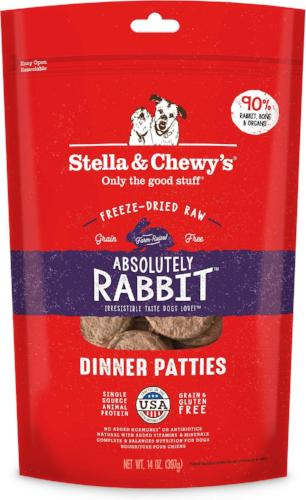 Stella & Chewy's Rabbit Frozen Dog Food