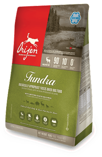 Orijen Tundra Freeze Dried Diet