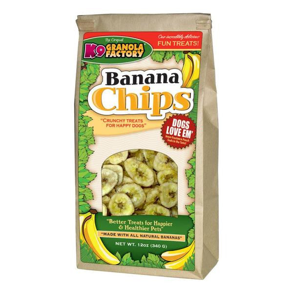 K9 Granola Factory Banana Chips