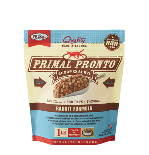 Primal Raw Pronto Cat Diets