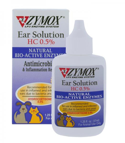 ZYMOX Enzymatic Ear Solution 1oz