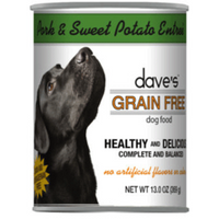 Dave's Grain Free Dog Food 13oz Cans