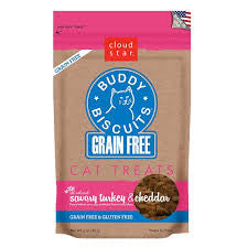 Cloud Star Buddy Biscuits Grain Free Cat Treats