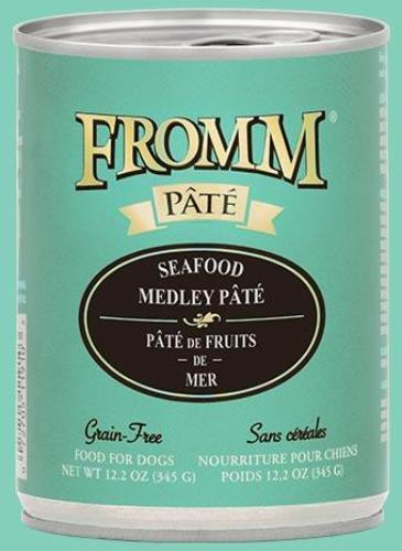 Fromm Grain Free Gold Pate Dog Food 12oz Cans