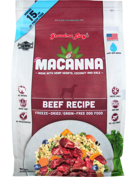Grandma Lucy's Macanna Freeze Dried Grain Free Dog Food