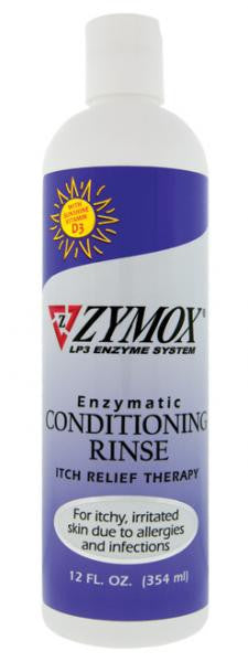 ZYMOX Conditioning Rinse for Itchy Inflamed Skin 12oz