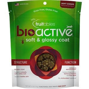 Fruitables Bioactive Soft & Glossy Treats