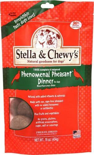 Stella & Chewy's Pheasant Frozen Dog Food