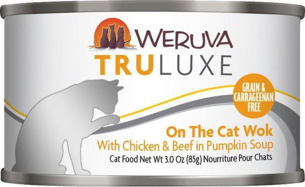 Weruva Truluxe 3oz Cat Food Cans