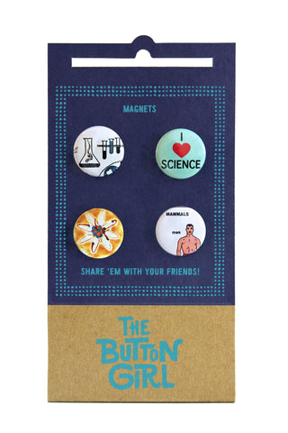 Four Magnet Set - sciencey