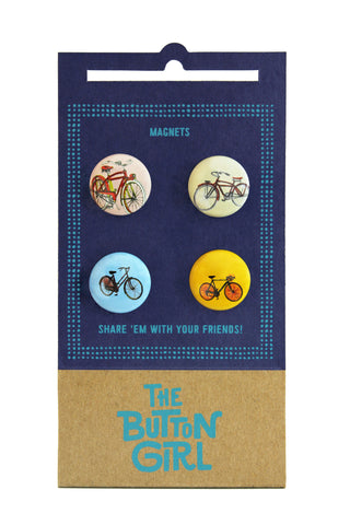 Four Magnet Set - bikes
