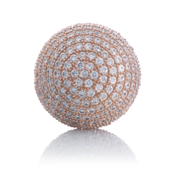 Micro Pave 06 Clear CZ - Rose Gol