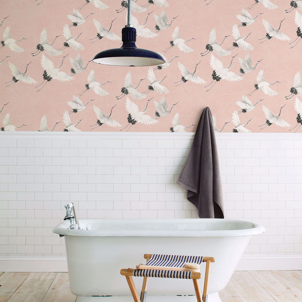 chic bird wallpaper