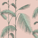Palm Leaves Plaster Pink/Mint