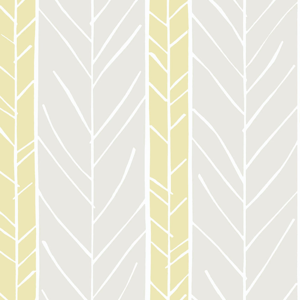 yellow and grey stripe