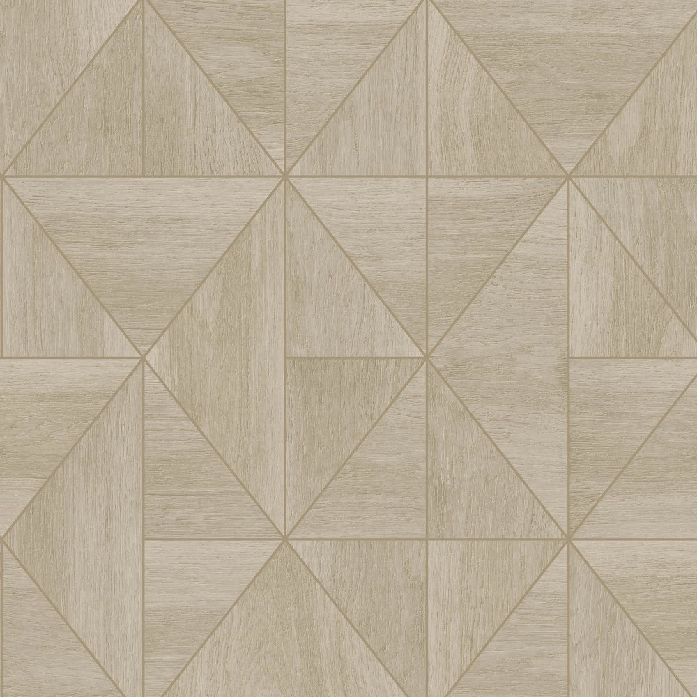 Cheverny Geometric Wood Beige
