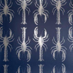Lobby Lobster|Silver and Navy