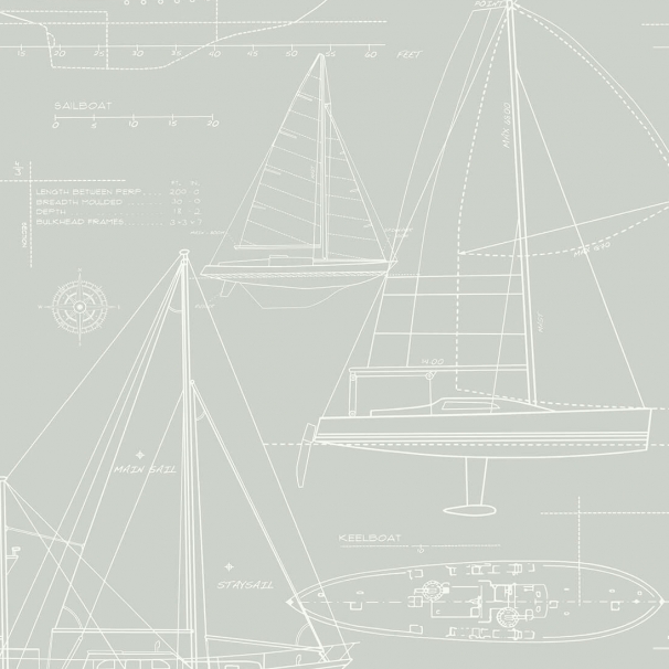 gray boat blueprint wallpaper