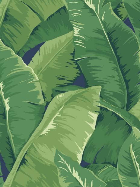classic palm leaf wallpaper