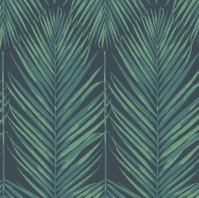 Breezy Leaf Navy