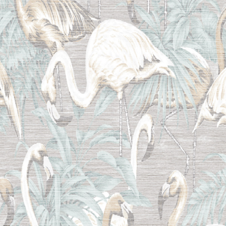 faded flamingo wallpaper