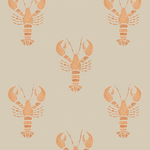 lobster design wallpaper